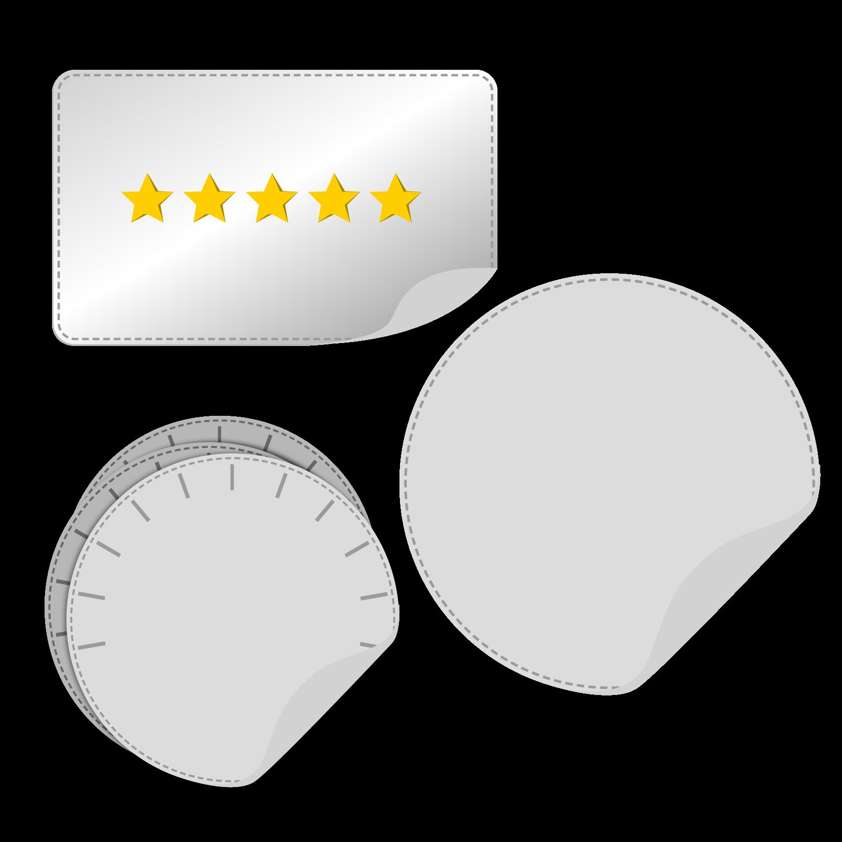 Signaal Stickers - Verschillende soorten